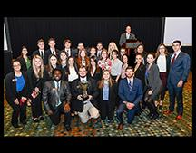 Dedman's 2019 CMAA Student Chapter of the Year